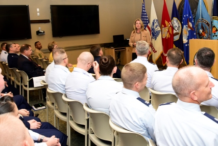 Secretary of the Air Force visits DTRA/SCC-WMD