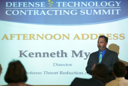 DTRA/SCC-WMD Director Myers addresses DEFTECH15