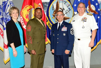DTRA, SCC-WMD and SJFHQ-E welcome new Command Senior Enlisted Leader
