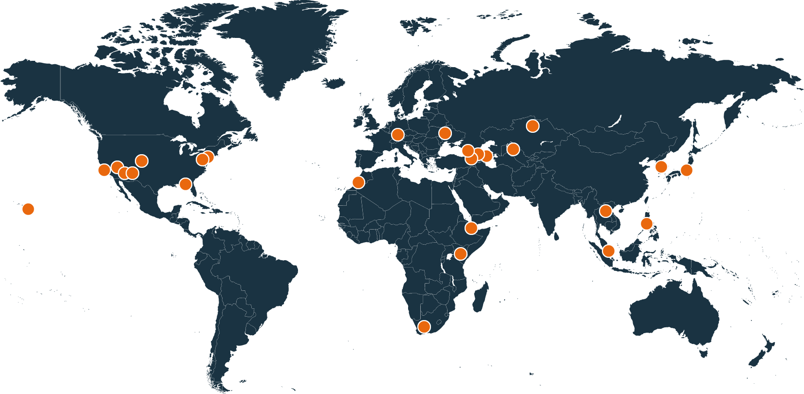DTRA Locations