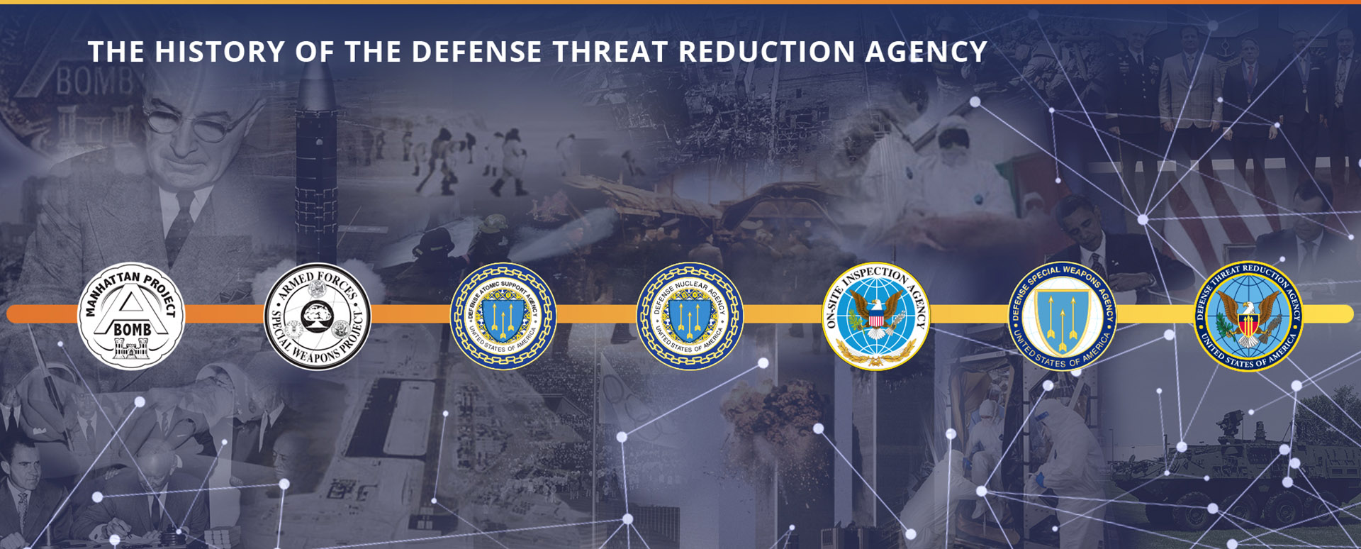 THE HISTORY OF THE DEFENSE THREAT REDUCTION AGENCY